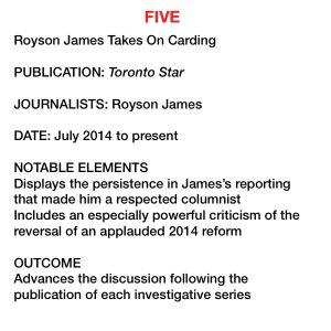 Calling Out the Cops - Ryerson Review of Journalism :: The Ryerson