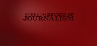Ryerson Review of Journalism graphic