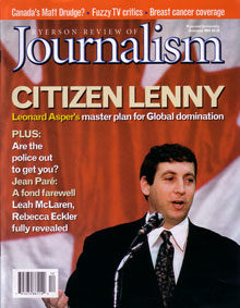 Summer 2001 Issue