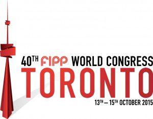 40th FIPP World Congress Toronto logo