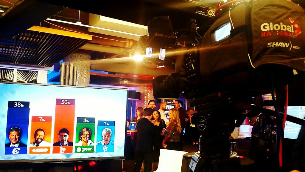 The partnership between Global News and Twitter Canada allowed for real-time, in-depth social media coverage (Fatima Syed)