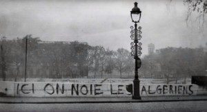 """A screenshot from the documentary """"Ici on noie les Algériens, 17 octobre 1961"""""""