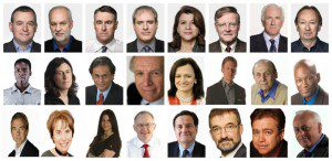 A grid of Canadian columnists