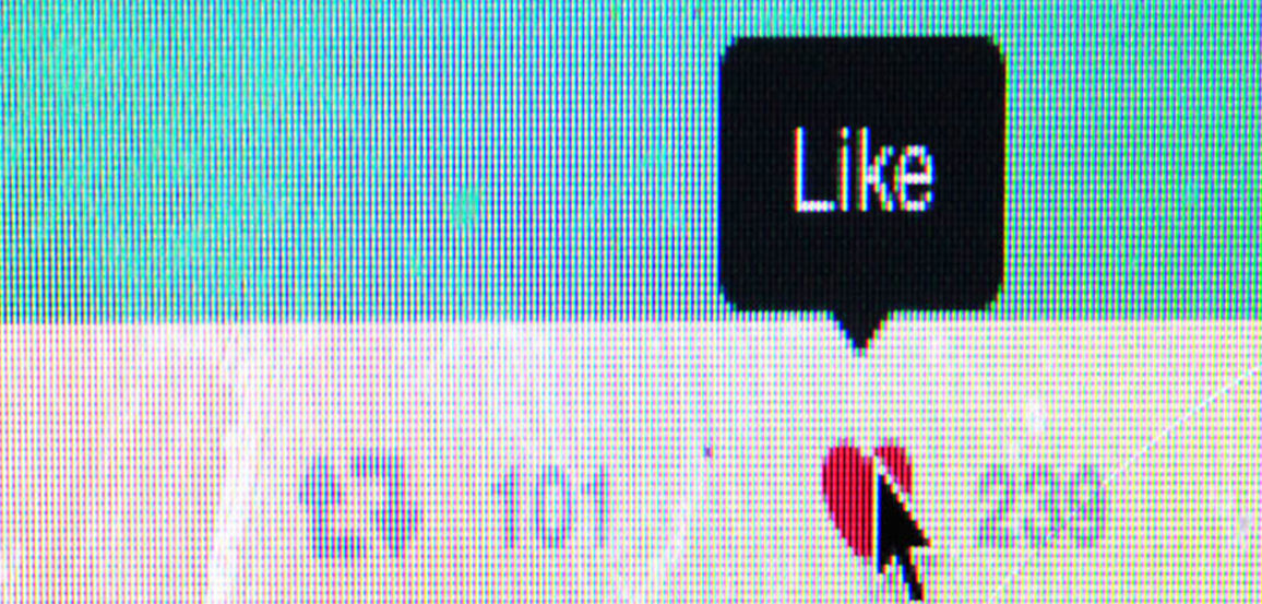 """A close up of the """"like"""" button on Twitter"""