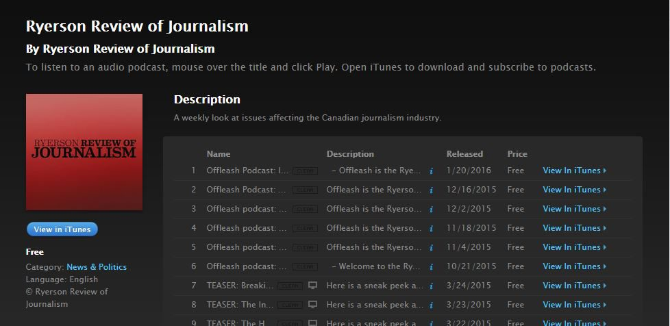 Offleash on iTunes