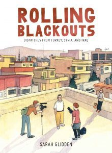 The cover of Glidden's graphic novel.
