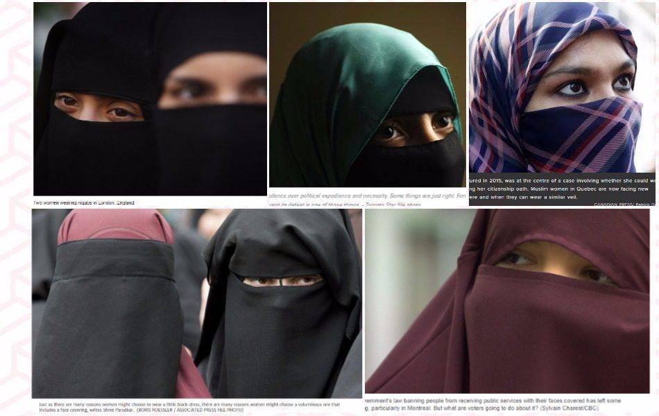 niqab, stock image