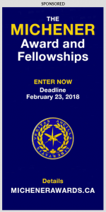 The Michener Award and Fellowships