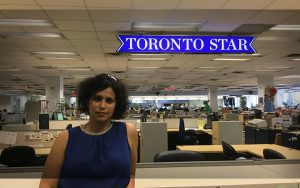 Shree Paradkar, Toronto Star