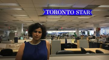 Shree Paradkar, Toronto Star