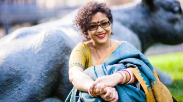 Aparita Bhandari has been covering Toronto's arts and culture scene for more than a decade. (Ramya Jegatheesan)