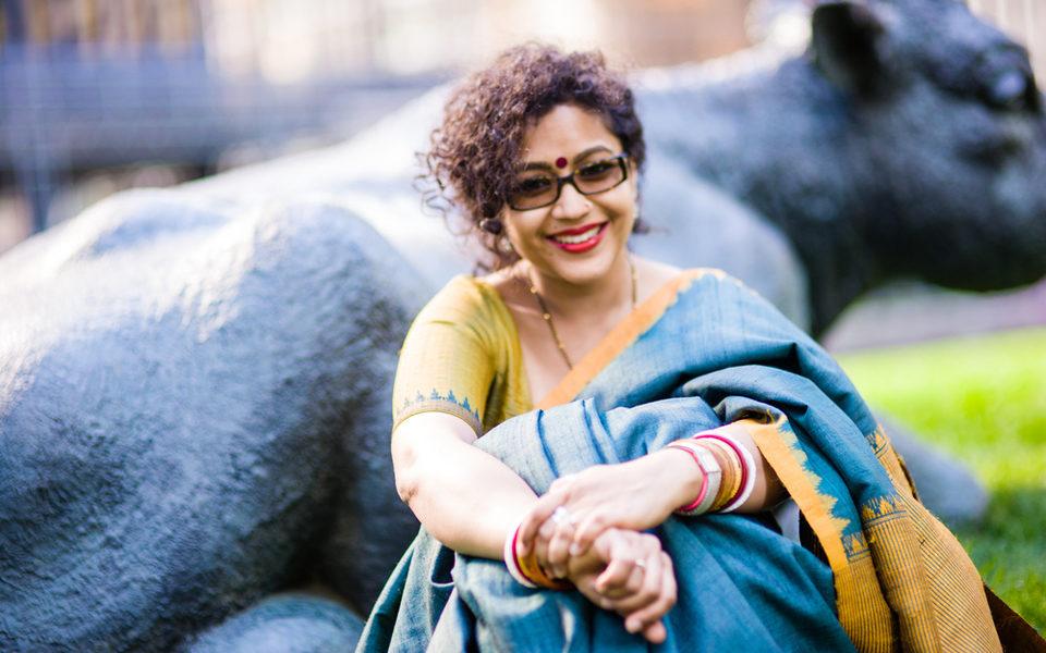Aparita Bhandari has been covering Toronto's arts and culture scene for more than a decade. (Ramya Jegatheesan)