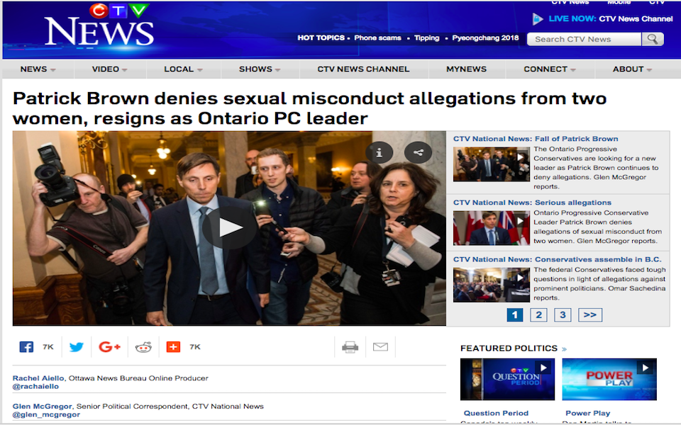 How media outlets investigate sexual misconduct allegations