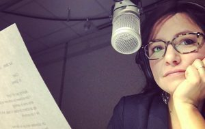 CBC's Connie Walker in the studio