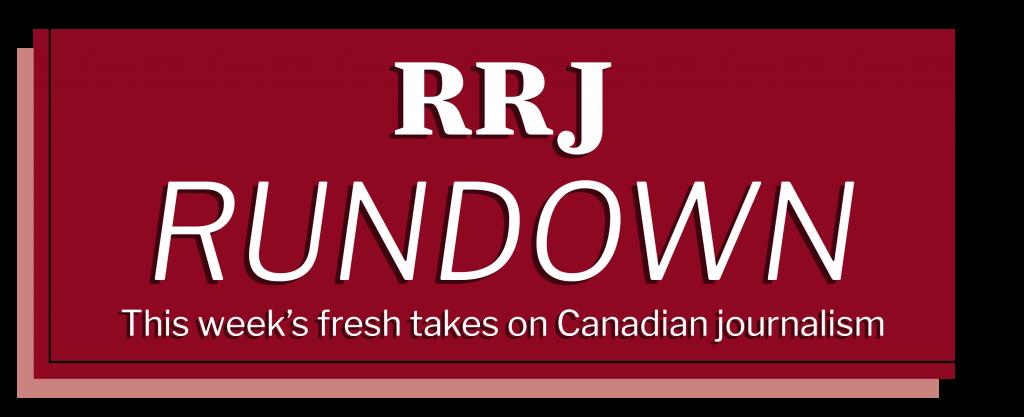 RRJ Rundown Newsletter