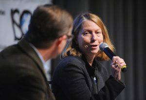 Jill Abramson speaking at a 2013 event